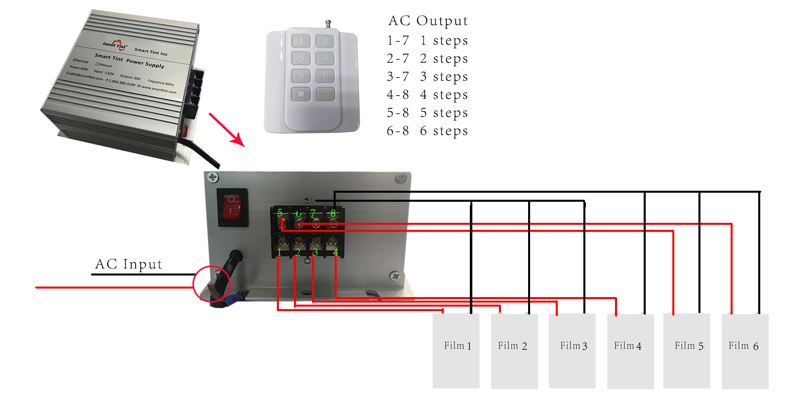 Smart Tint Tuned Power Control Unit With Remote Wire E40 Wiring Diagrams Gm Multiple Function