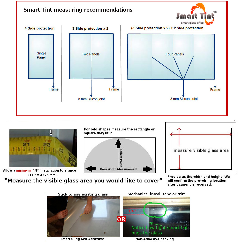 electric smart pdlc window film