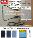 Smart Tint Smart Cling Self Adhesive Sample  /  Installation kit / plug'n play/ FREE SHIPPING USA and CANADA