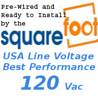 120v ac White Smart Cling® SELF-Adhesive Smart Tint™ custom cut and pre-wired up to 6 sq. feet
