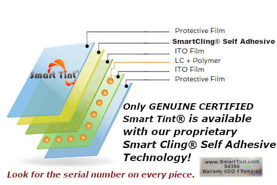 Smart Cling Self Adhesive Smart Tint
