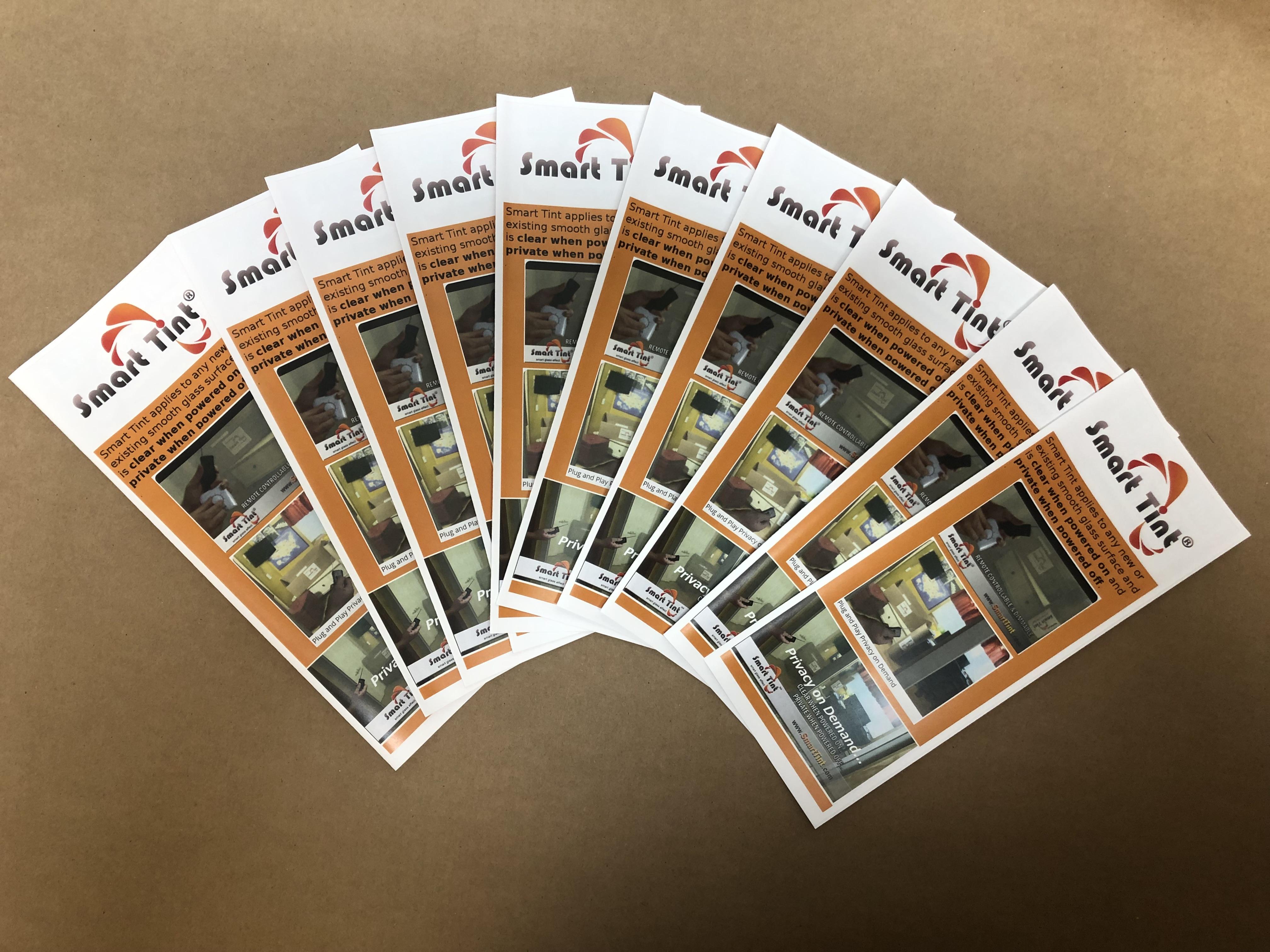 Smart Tint Brochures