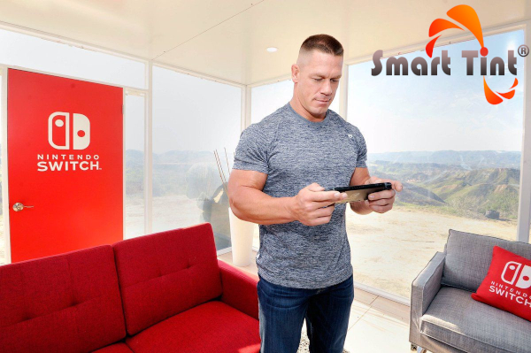nintendo and john cena utilizing smart tint technology