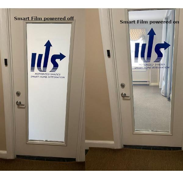 Smart Tint Client IUS door logo