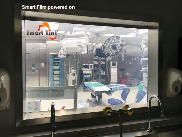 Smart Tint Surgical Room