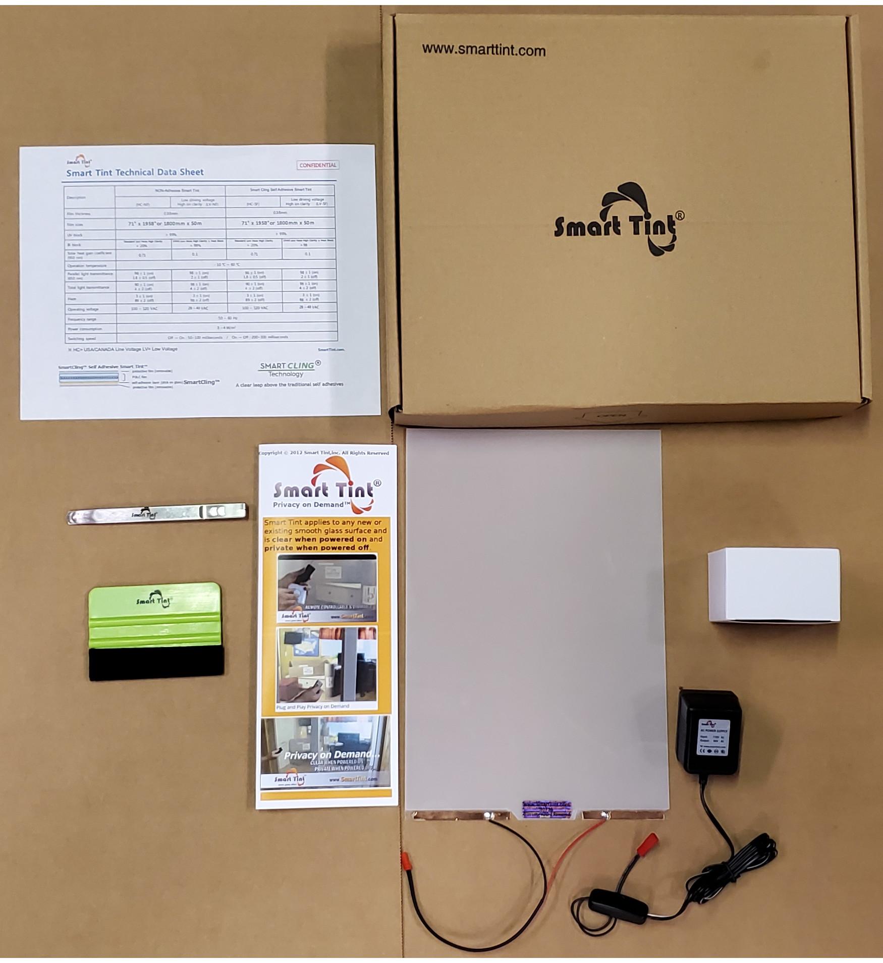 Smart Tint Complete installation kit
