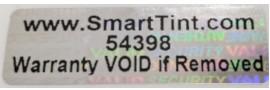 smart tint warranty