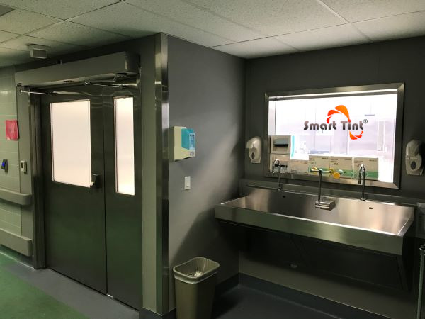 Smart Tint Operating Room