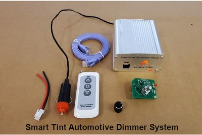 Smart Tint® 12 Volt DC Dimmer System for Automotive and Marine