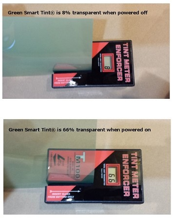 Smart Cling™ self-adhesive Green custom cut and pre-wired up to 25 sq. feet